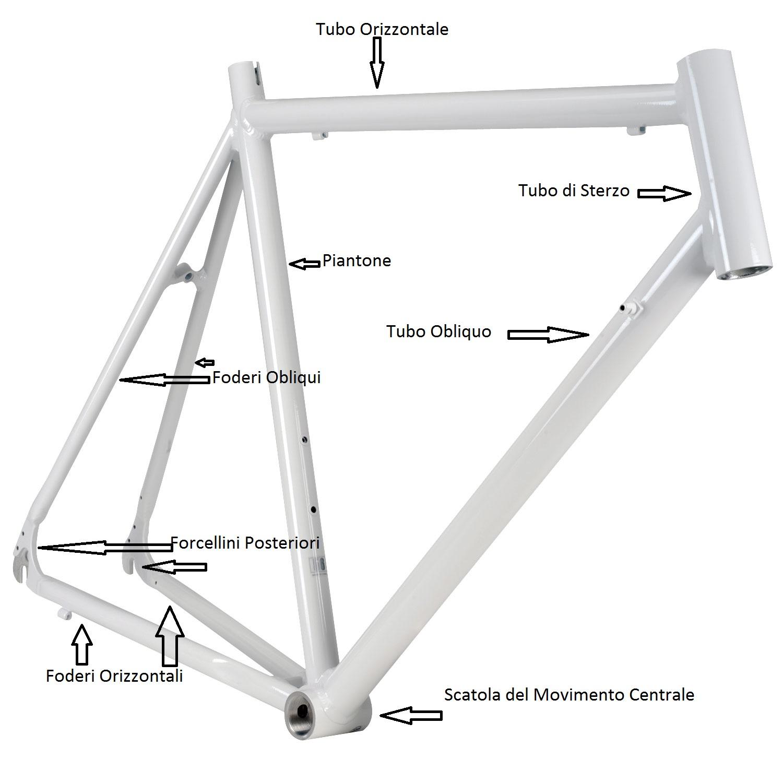 Telaio della bici da corsa for Una planimetria della cabina del telaio
